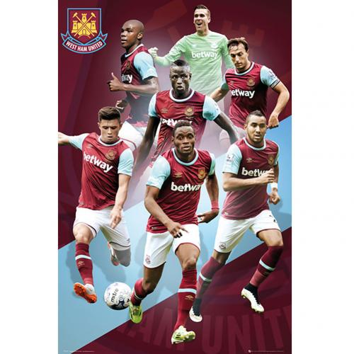 Poster West Ham United 180396