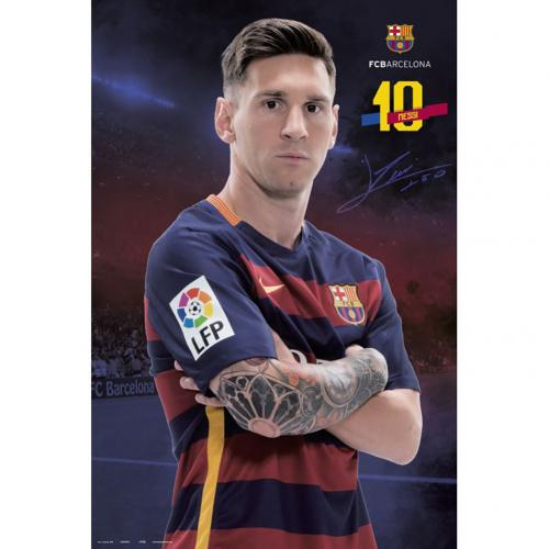 Poster Barcellona Messi 71