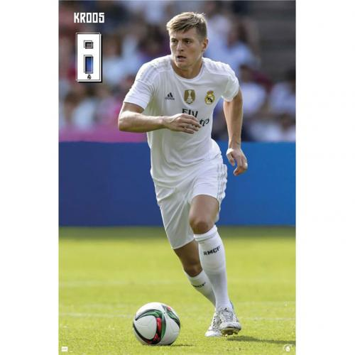 Poster Real Madrid Kroos 60