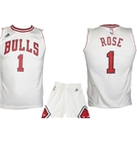 Chicago Bulls Mini Kit Rose Bianco
