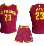 Cleveland Cavaliers Mini Kit James Amaranto