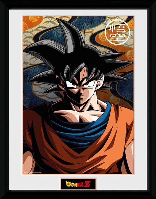 Stampa Dragon ball Z Goku