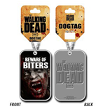 Walking Dead - Beware Of Biters Dog Tag (Collana)