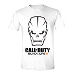T-shirt Call Of Duty Black Ops III Men's Skull - Large