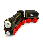Mattel Y4381 - Thomas & Friends - Wooden Railway - Veicolo Hiro Large
