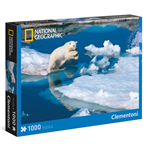 Puzzle - National Geographic 1000 Pz - Giovane Orso Polare