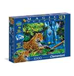 Puzzle - Magic 3D 1000 Pz - Jungla Del Giaguaro