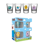 Adventure Time - Characters (Set 4 Bicchierini)