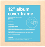 Album Cover Frame - Beech (album Cover Frame)