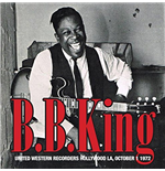 Vinile B.B. King - United Western Recorders Hollywood La, October 1 1972 (2 Lp)