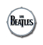 Beatles (The) - Drum Logo (Spilla Badge)