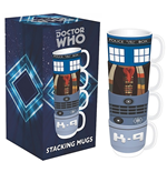 Dr Who - Stacking Mugs   Dr Who