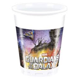 Guardians Of The Galaxy - 8 Bicchieri Di Plastica