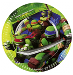 Teenage Mutant Ninja Turtles - 8 Piatti 18 Cm