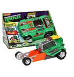 Teenage Mutant Ninja Turtles - Veicolo Turbo Charger Trasformabile