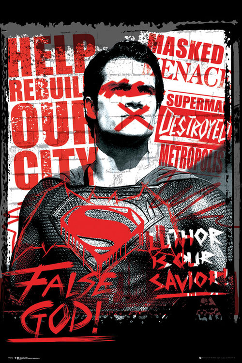 Poster Batman vs Superman 183012