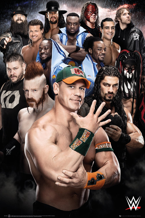 Poster WWE Superstars 2016