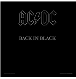 Ac/dc - Back In Black (framed Album Cover Prints)