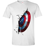 T-shirt Avengers - Captain America Shield (unisex )