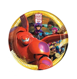 Big Hero 6 - 8 Piatti 23 Cm