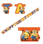 Minions - Scritta Happy Birthday