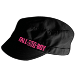 Fall Out Boy - Black Shortbilled Cadet (cappellino)