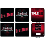 True Blood - Mixed Designs (Set 4 Sottobicchieri)