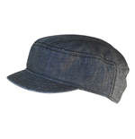 Free Authority - Black Chambray Cadet (Cappellino Tg. S/M)