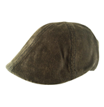 Free Authority - Brown Faux Leather Ivy (Cappellino Tg. S/M)