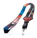Superman - Big Logo Lanyard Classic Comic Art (lanyards)