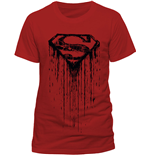 Superman - Dripping (T-SHIRT Uomo )
