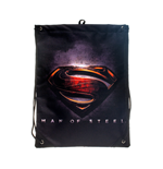Superman - Man Of Steel Movie Logo Gymbag (borsa Ginnastica)
