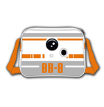 Star Wars - The Force Awakens - Bb-8 Astromech Droid Messenger Bag (Borsa A Tracolla)