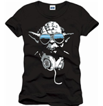 Star Wars - Cool Yoda Black (T-SHIRT Uomo )