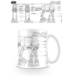 Star Wars - At At Sketch (Tazza)