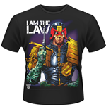 Judge Dredd - I Am The Law (T-SHIRT Uomo )