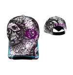 Miami Ink - Skull Logo Adjustable Cap (cappellino)