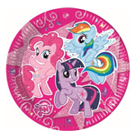 My Little Pony - 8 Piatti 23 Cm