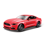 Maisto - Ford Mustang 2015 1:18 (Bianco / Blu / Rosso)