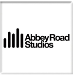 Beatles (The) - Abbey Road Studios Logo White (Magnete)