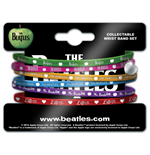 Beatles (The) - Apple (Set 6 Braccialetti Gomma)