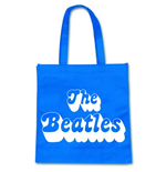 Beatles (The) - 70's Logo On Blue (Eco Borsa)