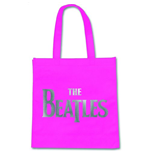 Beatles (The) - Silver Drop T Logo Fucsia (Borsa Eco-Shopper)