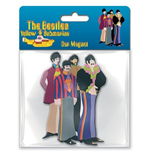 Magnete Gomma Beatles - Yellow Submarine Band