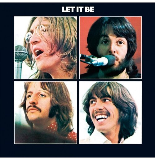 Beatles (The) - Let It Be (Targa Acciaio da Muro)
