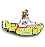 Spilla Badge The Beatles - Medium Yellow Submarine
