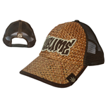 Sublime - Brown Leaf Straw Truck Cap (cappellino)