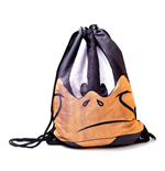 Looney Tunes - Daffy Big Face. Gymbag (borsa Ginnastica)