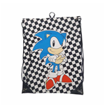 Sega - Checkered Sonic Gymbag (drawstring Bags)