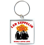 Led Zeppelin - Whole Lotta Love (Portachiavi Metallo)